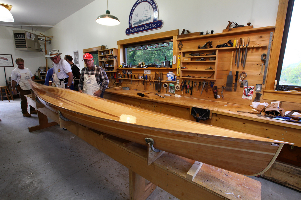 Bear Mountain Boats Wooden Boat Building Workshop